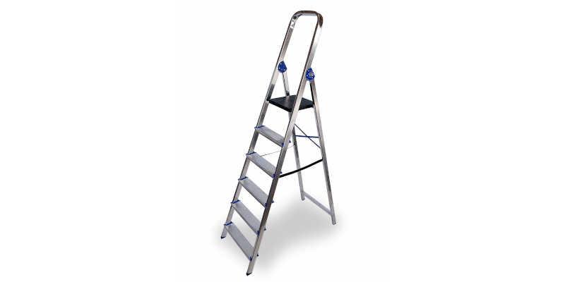 Escalera de aluminio de tijera doméstica Altipesa escalera escaleras precio precios comprar oferta ofertas barato barata baratos baratas oferta ofertas rebaja rebajas