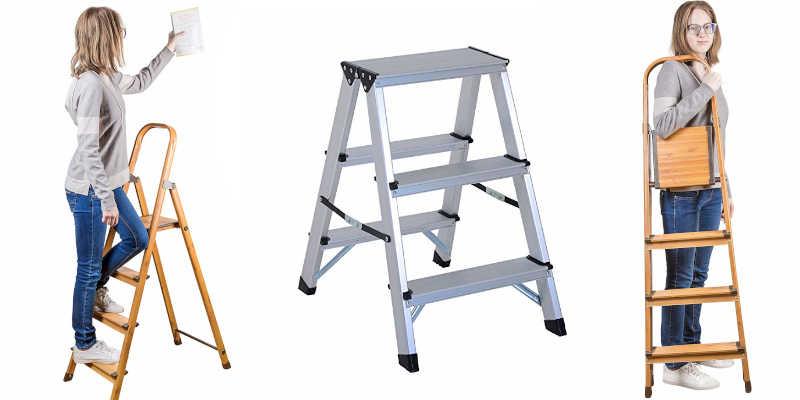 Escalera doméstica de aluminio escalera escaleras precio precios comprar oferta ofertas barato barata baratos baratas oferta ofertas rebaja rebajas